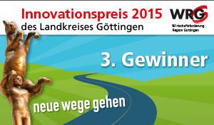 MeyerundKuhl erhält 3. Platz beim Innovationspreis 2015 des Landkreises Göttingen