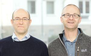 Dr. Jochen Kuhl und Axel Meyer